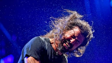 Dave Grohl of Foo Fighters performs at KAABOO Del Mar.
