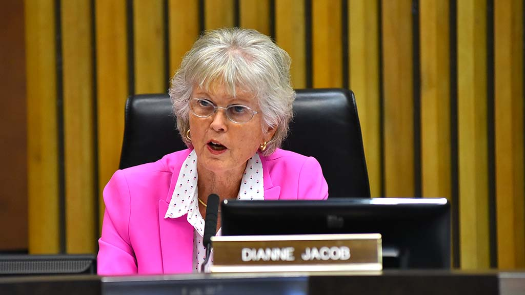 County Supervisor and LAFCO member Dianne Jacob