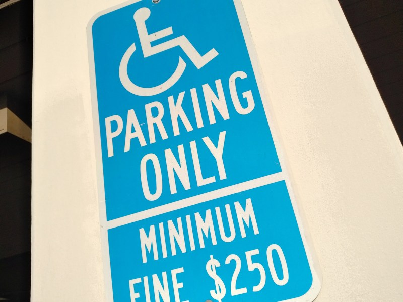 Disable, disability parking