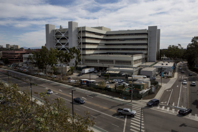 The VA San Diego Healthcare System in La Jolla, shown on Nov. 15, 2018, provides services to the nearly quarter-million veterans in San Diego and Imperial counties, and has one of the largest research programs in the national VA network.