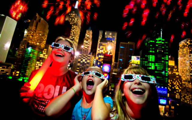 New Year's Eve at Legoland