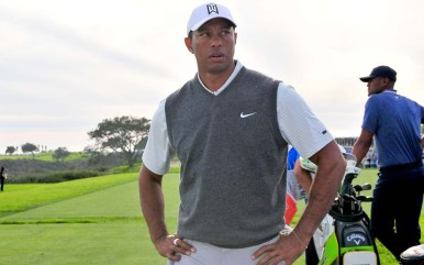 Tiger Woods awaits next shot at Farmers Insurance Open.