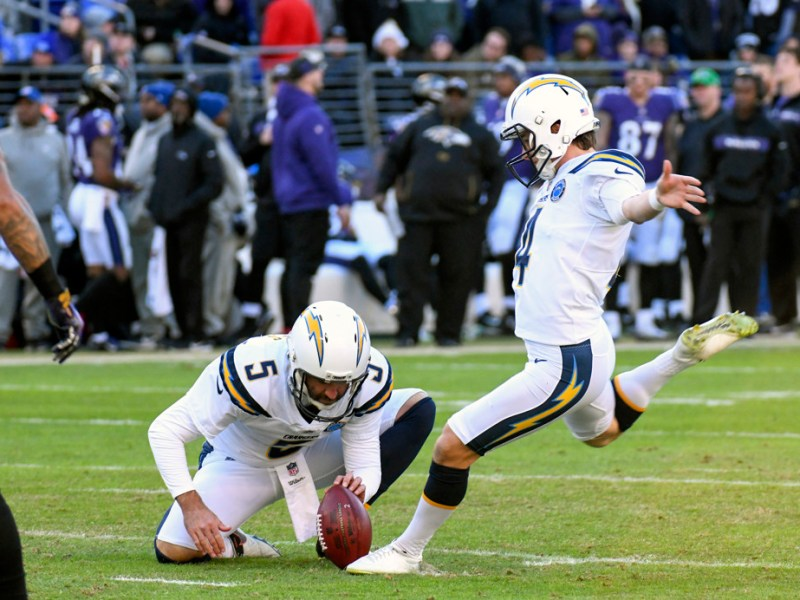 Chargers at Ravens