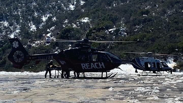 Skier Mountain Rescue ASTREA