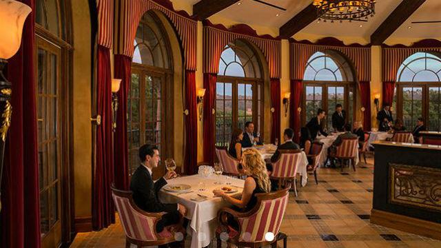 Interior of Addison Restaurant