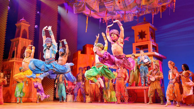 "The cast of Disney's ""Aladdin"""