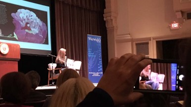 """Chelsea Clinton took 15 minutes to read from """"She Persisted Around the World."""""""