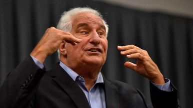 """Ted Leitner said of conservatives who once barred stem-cell research: """"We don't go by the Bible. We go by the Constitution and we are a country of laws. These people are the Taliban."""""""