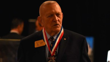 "Gene Kranz, flight director of many Apollo missions, told Times of San Diego: ""Mars has distracted the nation from going back to the moon. ... There's a lot to be learned before we even consider going to Mars."""