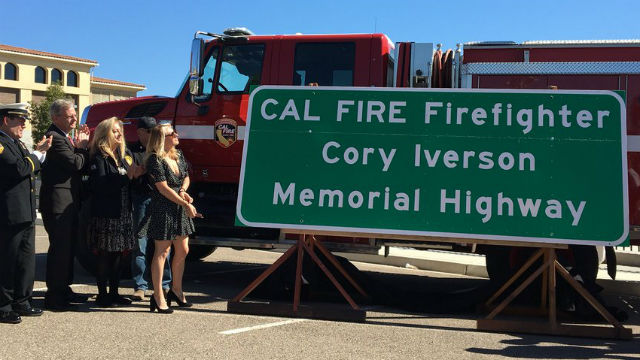 Unveiling of memorial sign