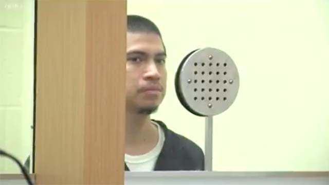 Daniel Elizarraras, as seen in court. Image via CBS8.com