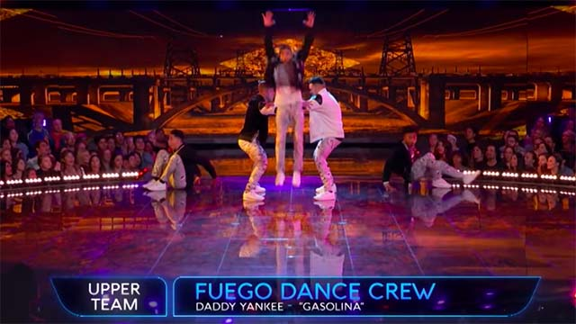 """Fuego Dance Crew of San Diego performs for the last time in this season's """"World of Dance"""" on NBC."""