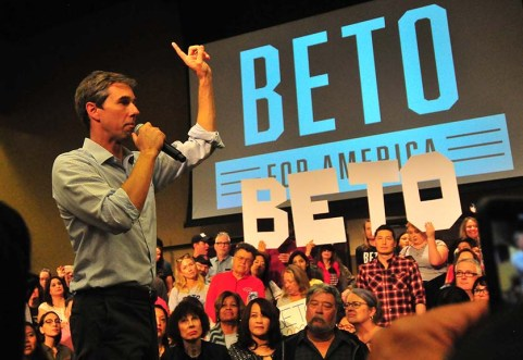 """Beto O'Rourke said: """"This economy works really well for a very few number of Americans. It doesn't work well enough — or at all — for millions more."""""""