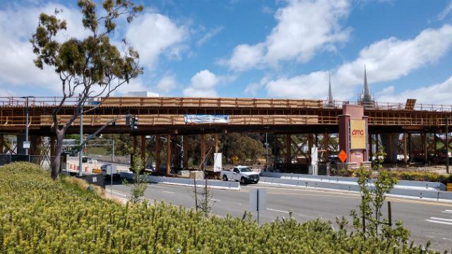 Blue Line trolley construction