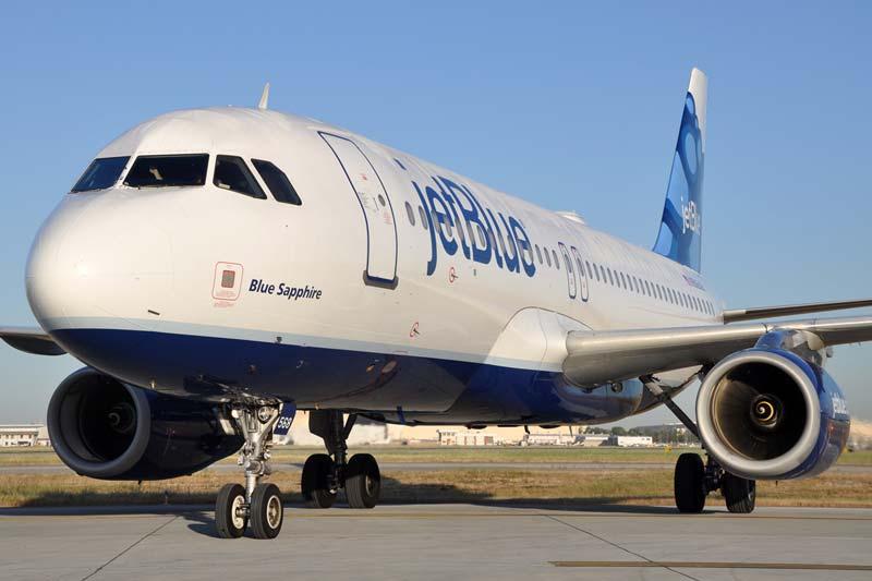 JetBlue airliner