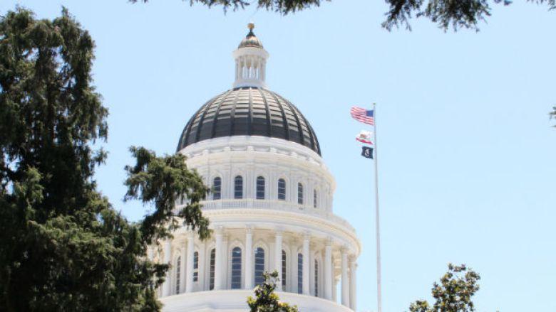 Dome of the California Capitol in Sacramento