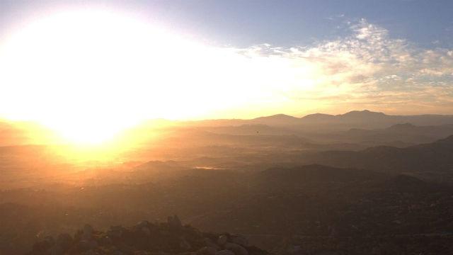 Sunrise in Ra