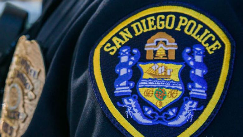 A San Diego Police Department patch