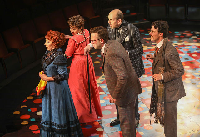 """Cast of """"The Underpants"""" at The Old Globe"""