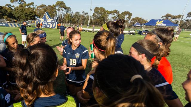 UCSD Soccer NCAA Award