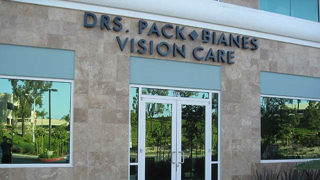 Pack and Bianes Vision Care Optometry in Chula Vista.