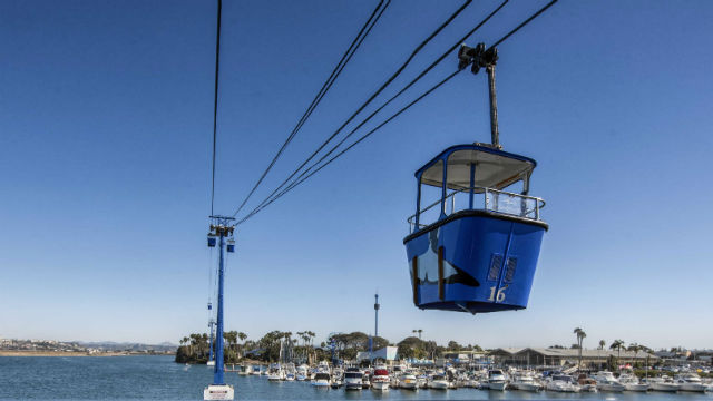 Skyride at SeaWorld San Diego