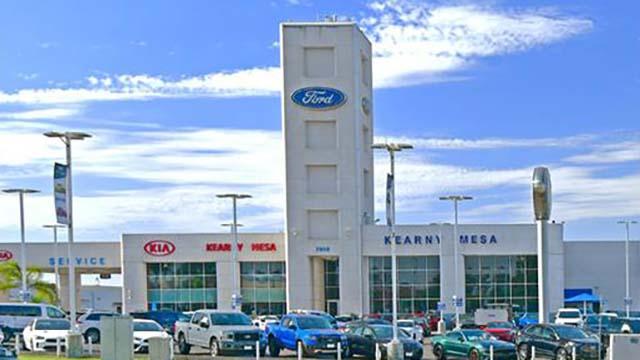 Kearny Mesa Ford was scene of crash-and-keys-grab vehicle theft.