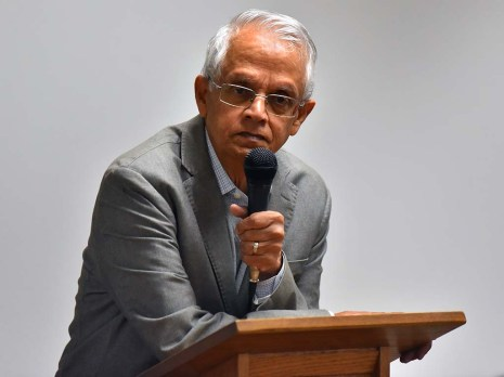 Veerabhadran Ramanathan said 20% of the carbon dioxide in the atmosphere stays there for thousands of years.