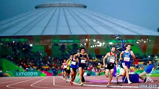 Joel Gomez led the field at the Parapan American Games in Lima, Peru, in August.