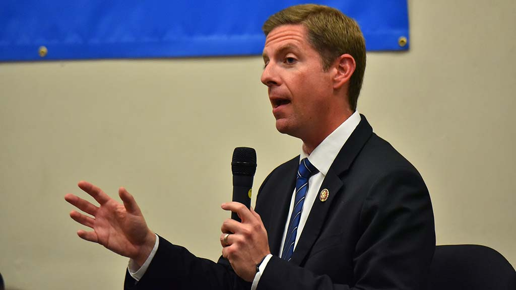 "Rep. Mike Levin said: ""One of the biggest myths that I've heard that needs to be debunked ... is that somehow the House of Representatives in this session has not been productive, that we can't legislate and investigate at the same time. In fact, that's what the Congress has been doing since 1792."""