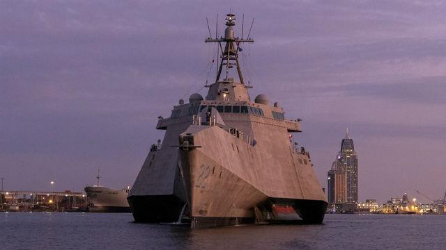 The future USS Kansas City