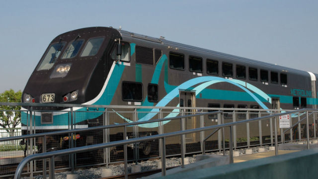 Metrolink train