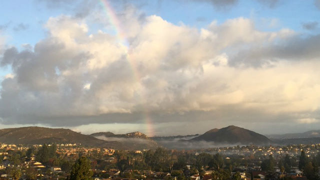 Rainbow over Rancho Bernardo