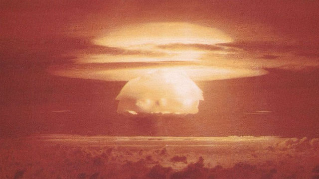 Castle Bravo hydrogen bomb test
