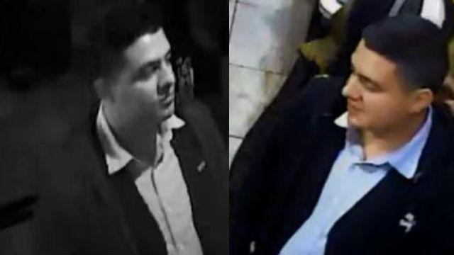 Surveillance photos of hit-and-run suspect