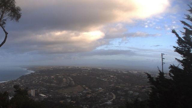 Clouds over La Jolla Shores