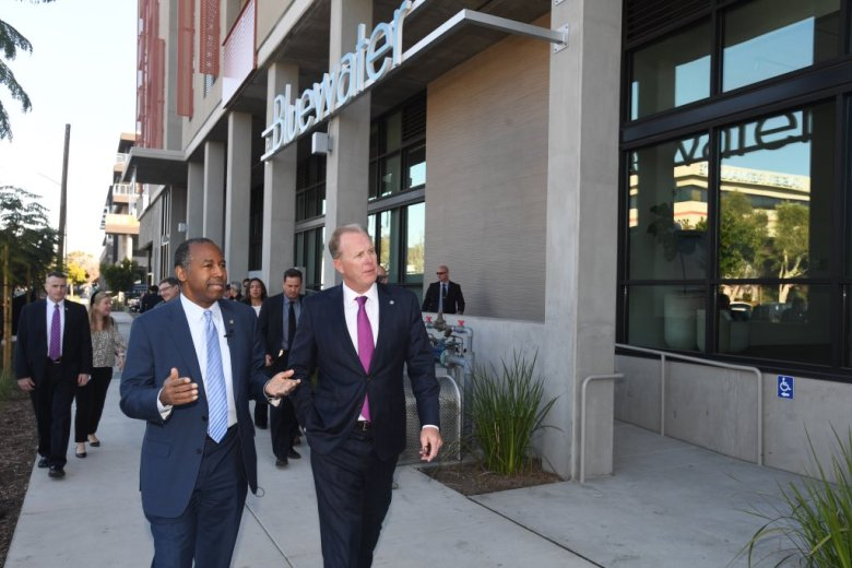Ben Carson and Kevin Faulconer