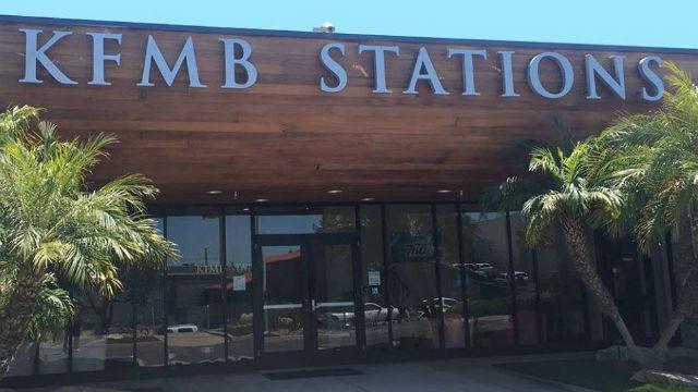 Entrance to KFMB stations