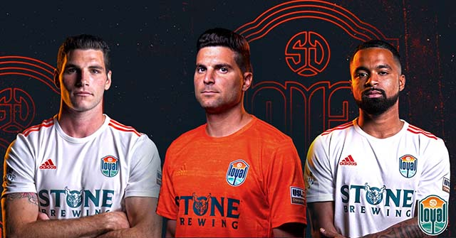 The San Diego Loyal, San Diego's new professional soccer team, revealed its kit for its inaugural season beginning March 7. Photo courtesy San Diego Loyal