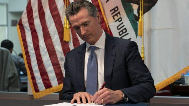 Gavin Newsom signs executive order