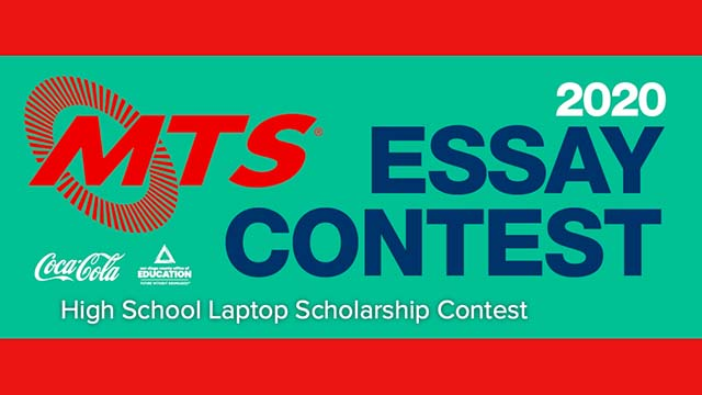 Contest will award laptops and backpacks to the top 40 essayists.