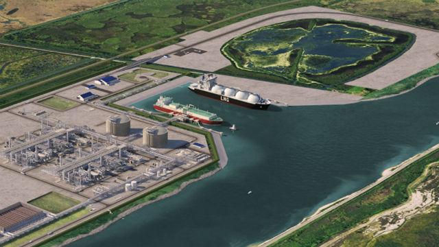 Rendering of Port Arthur facility