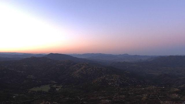 Sunrise from Lyons Peak