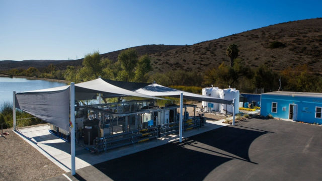 Water purification demo plant