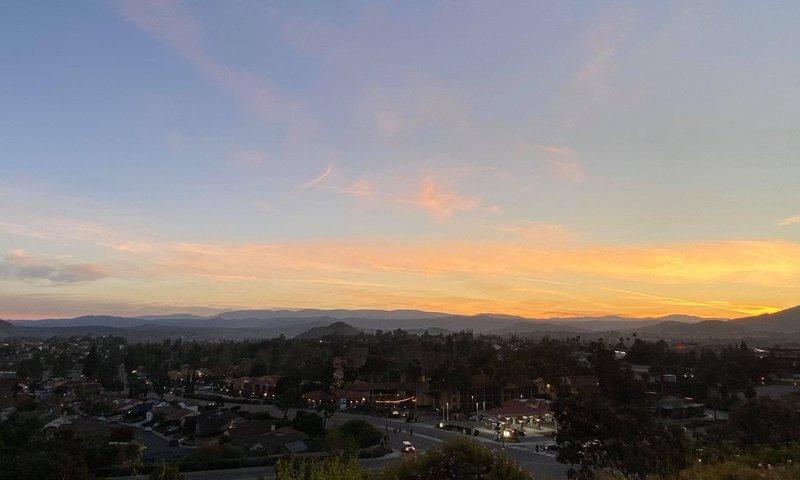 Sunrise in Rancho Bernardo