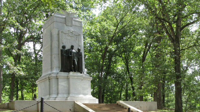 Illinois Monument on Cheatham Hill