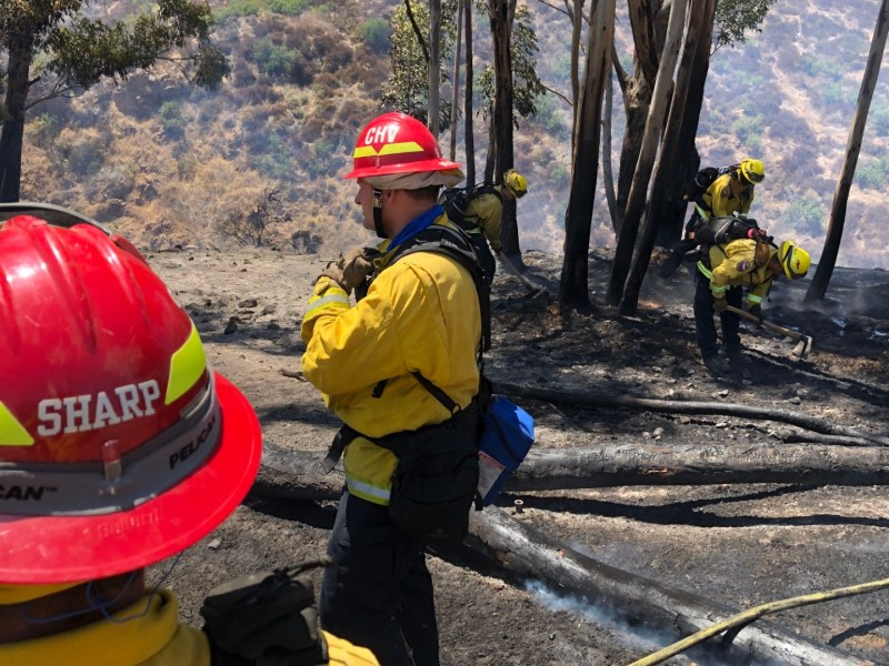 Calfire firefighters