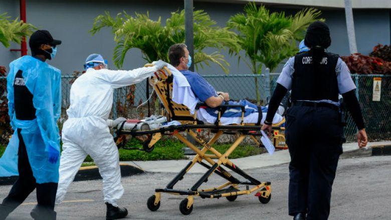 Coronavirus patient transported to hospital