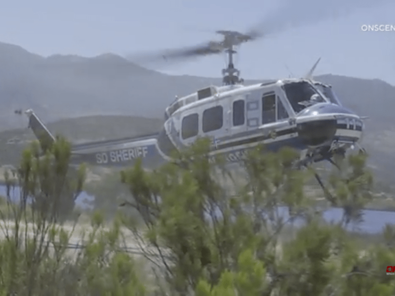 Sheriff's helicopter