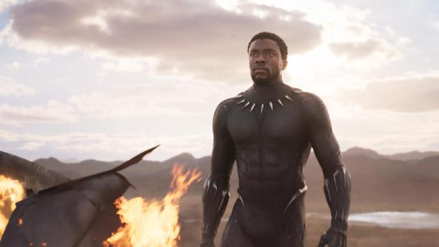 """A scene from """"Black Panther."""""""
